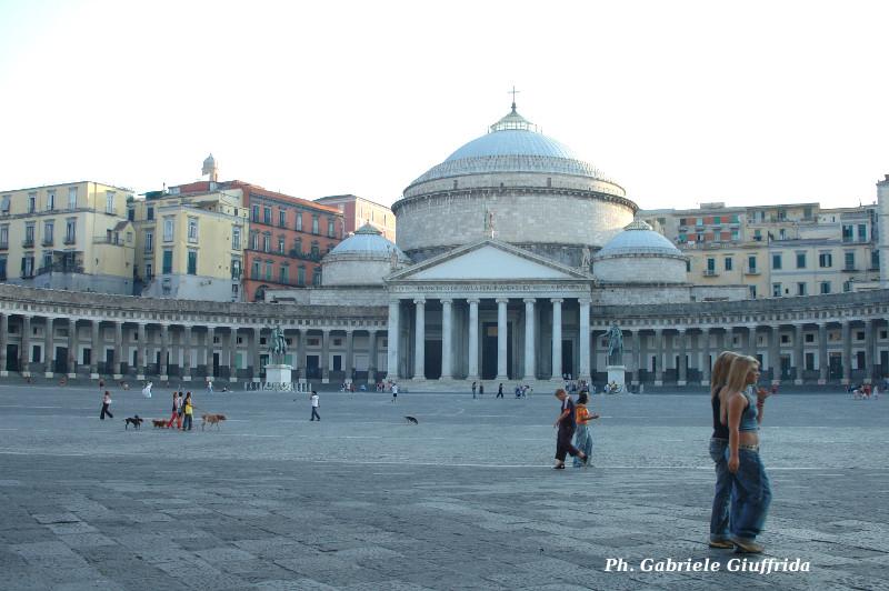 Plebiscito Square Naples GabrieleGiuffrida